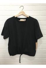 RD Style RD Style - Organic tee with drawstring hem (black)