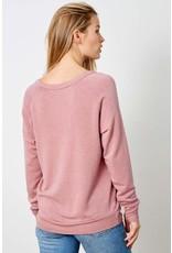 good hYOUman good hYOUman - Coffee & Kindness sweatshirt (ash rose)