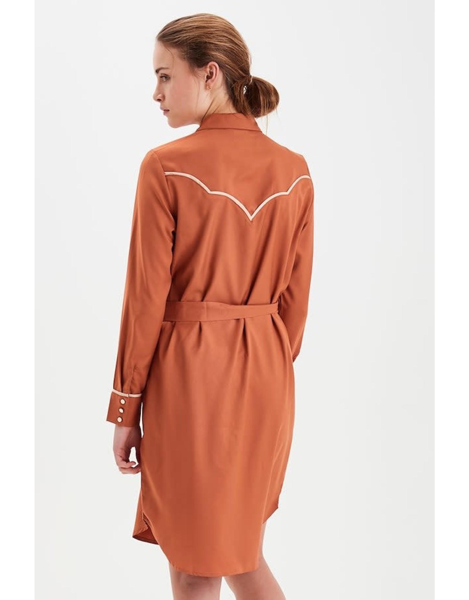 ICHI ICHI - Willa dress (gingerbread)