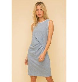 Hem & Thread Kamala - Ruched midi dress