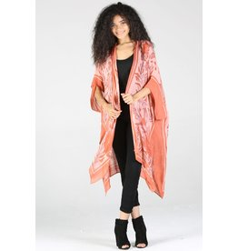Angie Angie - Gabby coral coverup