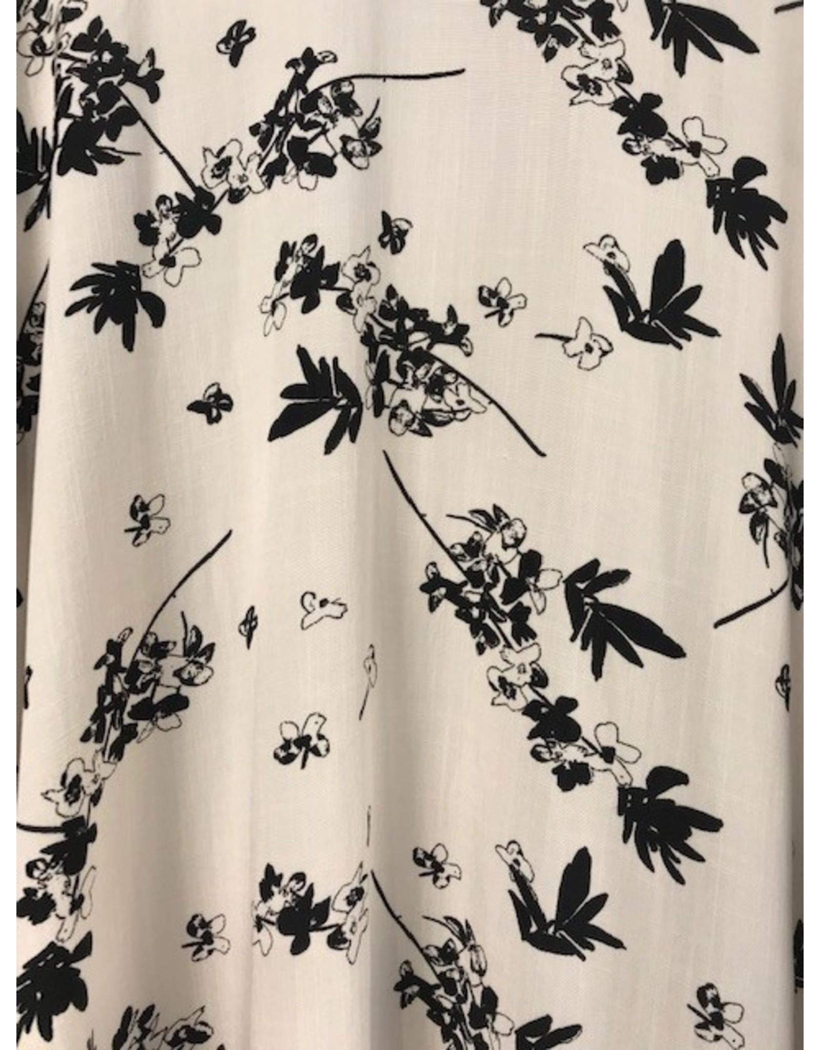 Papillon Papillon - Floral jaquard coverup
