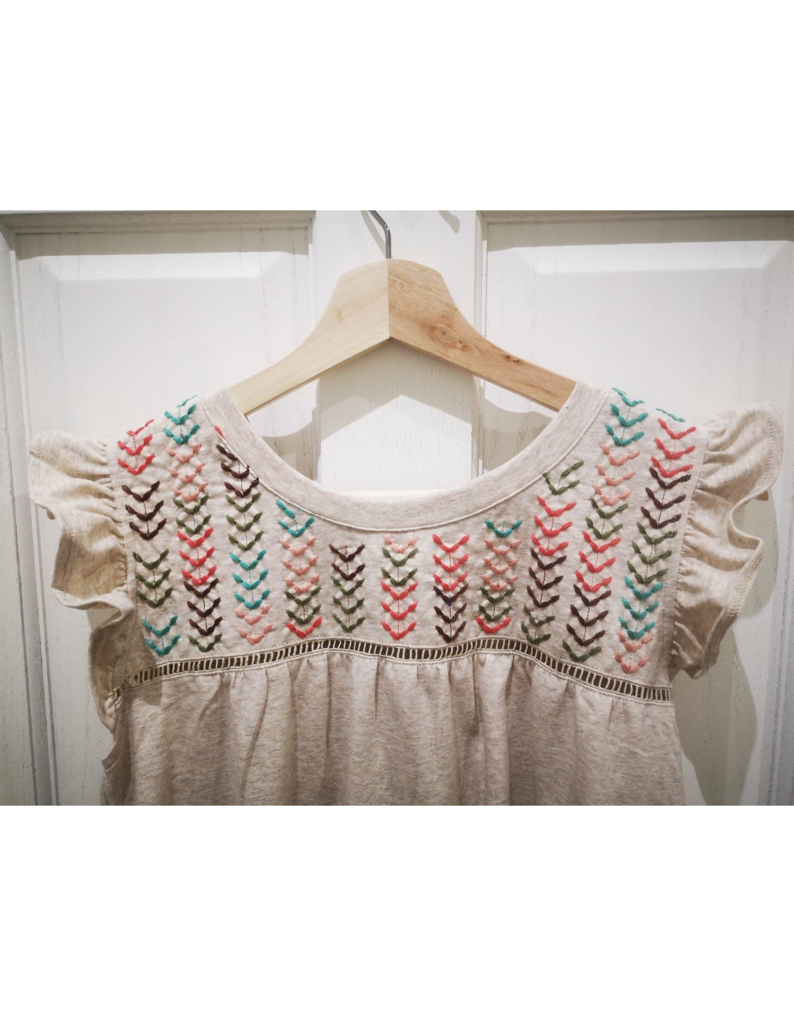 THML Harmony - Embroidered knit top