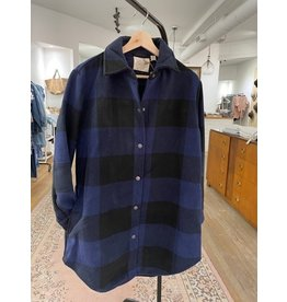 RD Style RD Style - Anika shacket (marine blue)