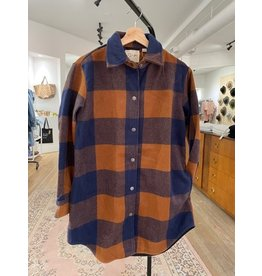 RD Style RD Style - Anika shacket (spice plaid)