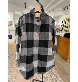 RD Style RD Style - Anika shacket (grey plaid)