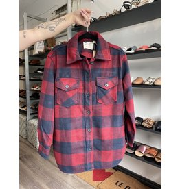 RD Style RD Style - Danika shacket (red/navy plaid)