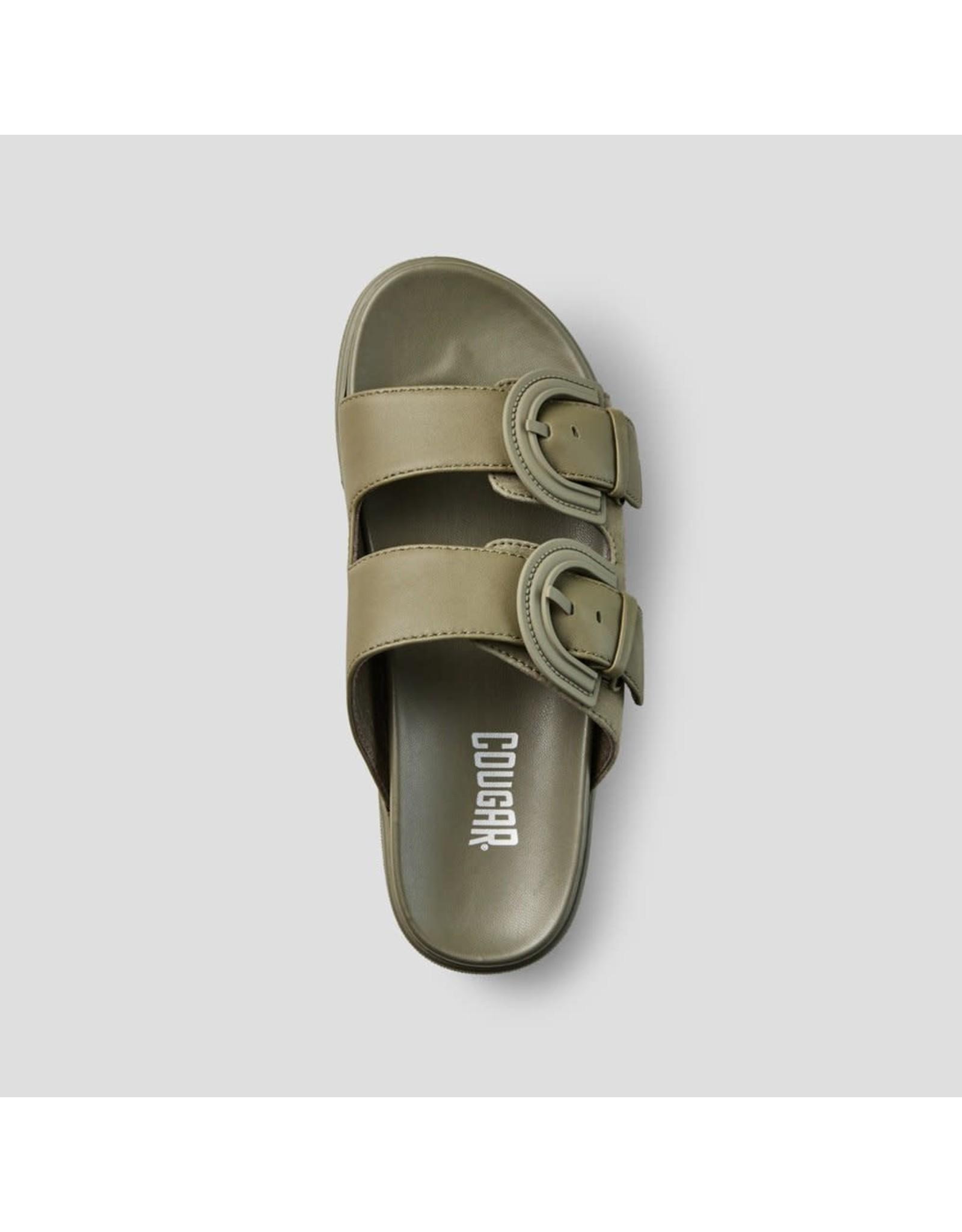 Cougar Cougar - Pepa suede sandal (olive)