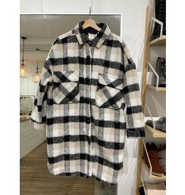 RD Style RD Style - Amelie plaid coat  (tan)