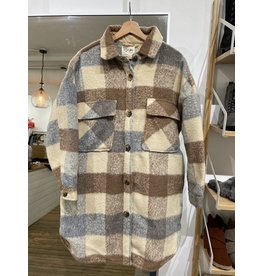 RD Style RD Style - Amelie plaid coat (beige)