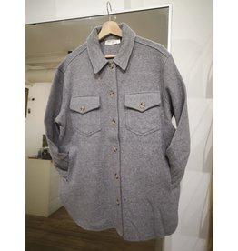 RD Style RD Style - Lulu shirt jacket (grey melange)