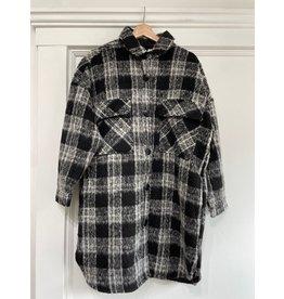 RD Style RD Style - Amelie plaid coat (black 25VDB)