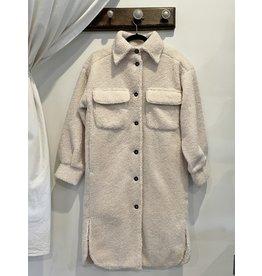 EsQualo EsQualo - Katya Teddy bear coat (long)