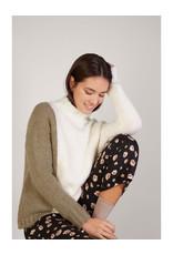 Mus & BomBon Mus & BomBon - Aventu sweater (white/green)