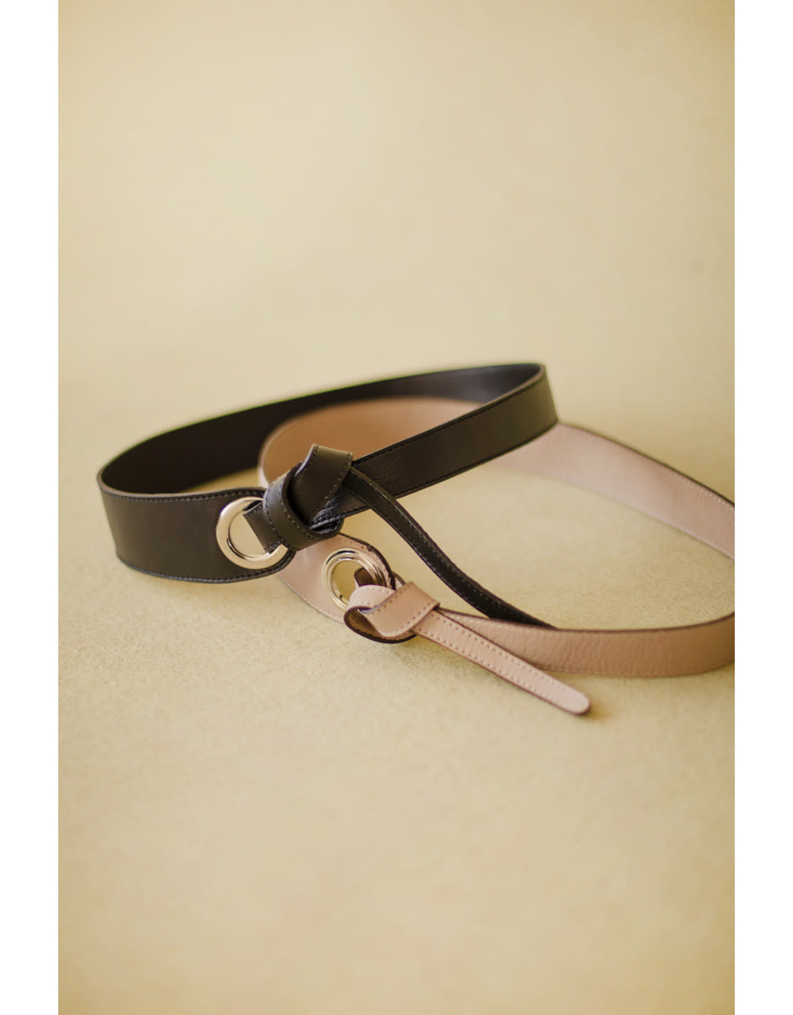 Mus & BomBon Mus & BomBon - Geuda belt (black)