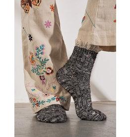 Free people Free People - Firecracker Flecked Ruffle Socks (black)