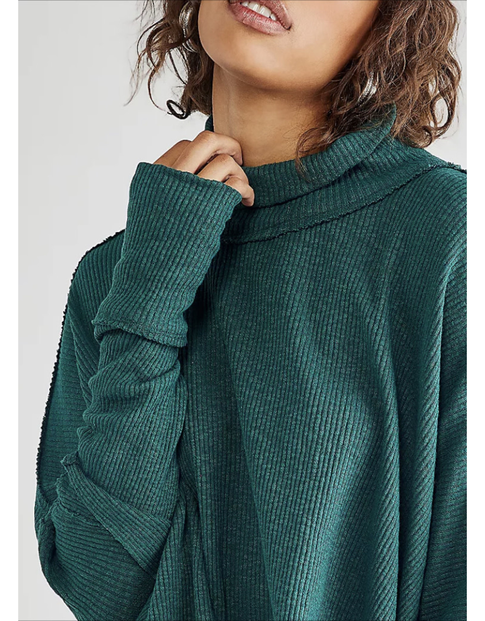 Free people Free People - Moon Daisy Pullover (Everglade)