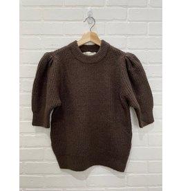 RD Style RD Style - Della knit turtkeneck  (dark chocolate)