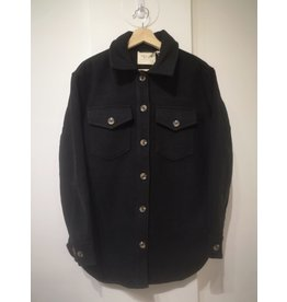 RD Style RD Style - Aria woven coat (black)