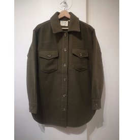RD Style RD Style - Aria woven coat (dark olive)