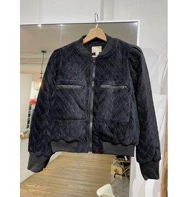 Korner Korner - Quilted bomber jacket (black jacket)