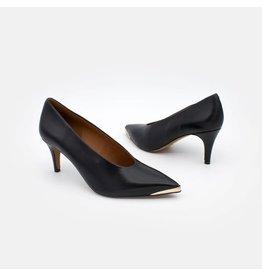 Angel Alarcon Angel Alarcon - Bohol - Leather Stiletto with medium heel & metal toe