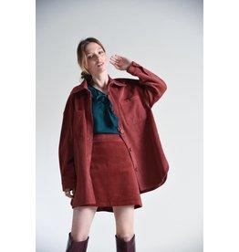 Molly Bracken Molly Bracken - Utility corduroy jacket (terracotta)