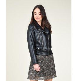 Molly Bracken Molly Bracken - Perfecto zipped jacket (black)