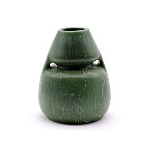 Ephram Faience Green Vase