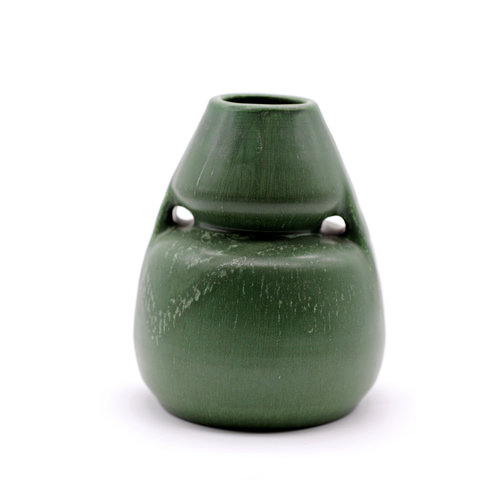 Ephram Faience Green Vase