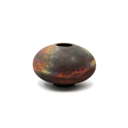 * Delicate Handmade Ceramic Raku Seed Pot