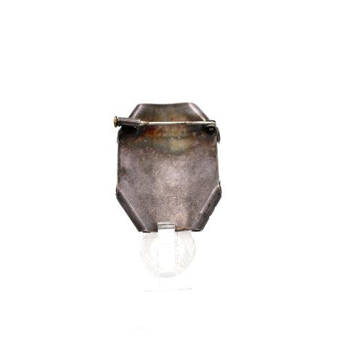 * Handmade Silver Cameo
