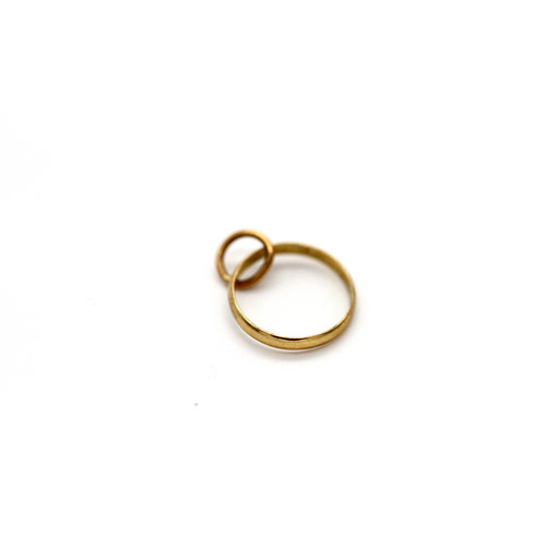 Treasures of Ojai 18K Miniature Ring charm