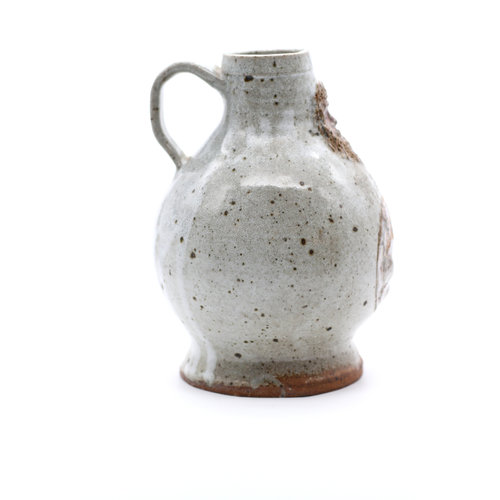 * Nature Tone Ceramic Jug with Face
