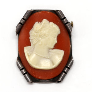 Treasures of Ojai Handmade Silver Cameo