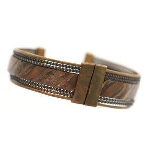 Treasures of Ojai Men's Mixed Metal Cuff