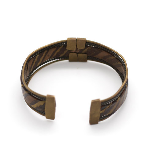 Men's Mixed Metal Cuff