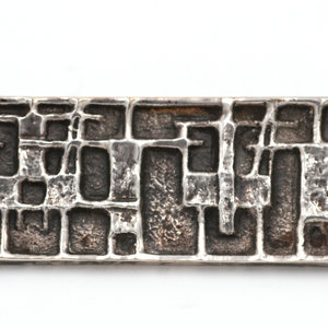Treasures of Ojai Sterling Modernist Brooch