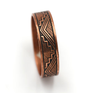 Treasures of Ojai Copper Ring