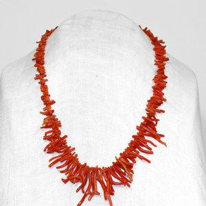 Treasures of Ojai Branch Coral Necklace