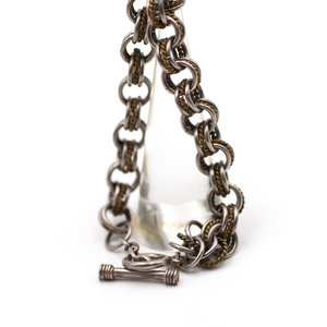 Treasures of Ojai Sterling Triple Cable Chain Bracelet