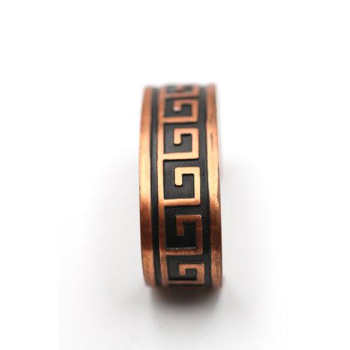 * Copper Patterned Cuff