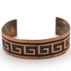 Treasures of Ojai Copper Patterned Cuff