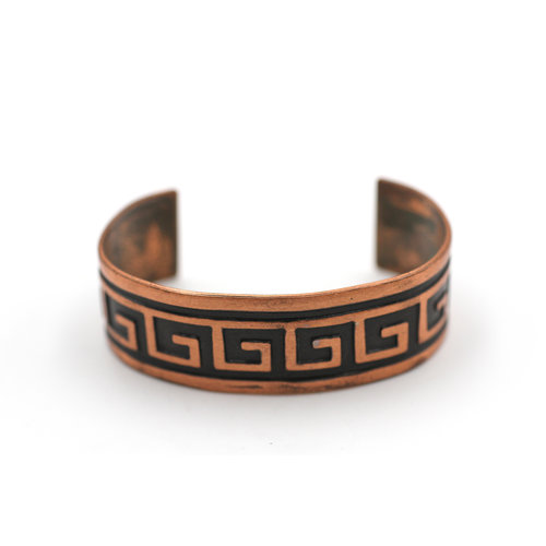 Copper Patterned Cuff