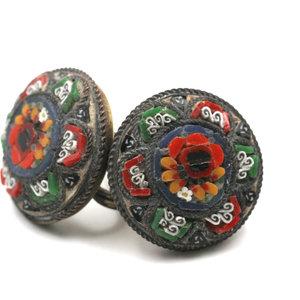 Treasures of Ojai Micro Mosaic Earrings