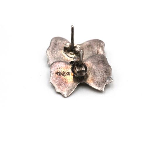 Sterling Bow Earrings