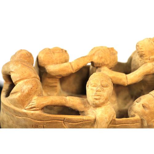 Treasures of Ojai Nacius Joseph Haitian Men in Boat