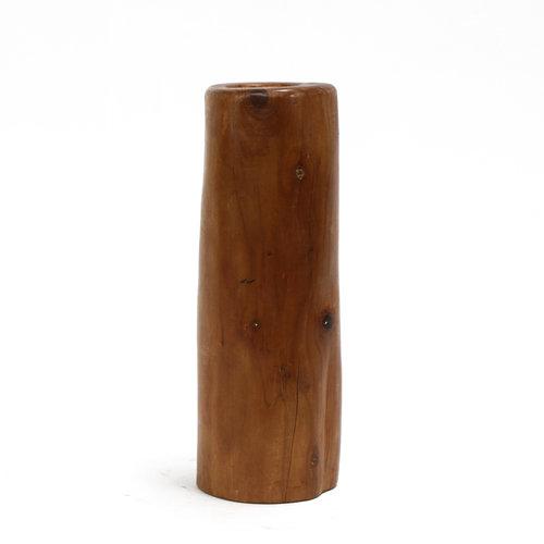 * Wood Vase