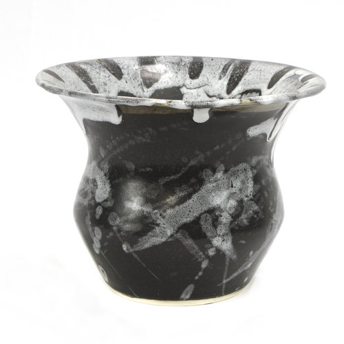 * Black and White Vase