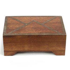 Treasures of Ojai Wood Envelope Box